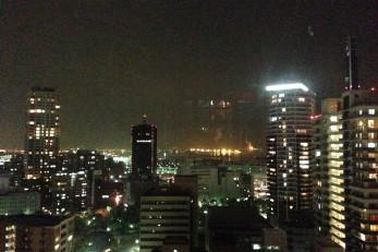 17階からの神戸の夜景